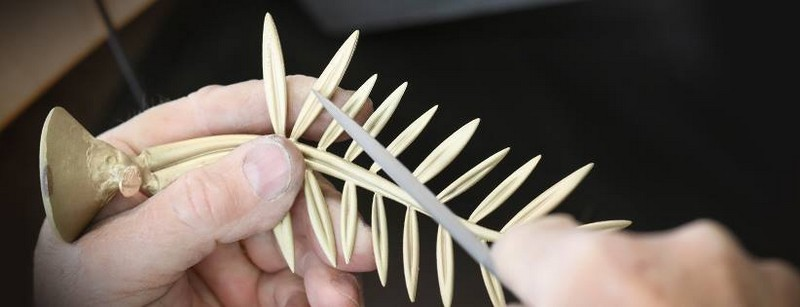 Chopard Palme d'Or Trophy in the Making