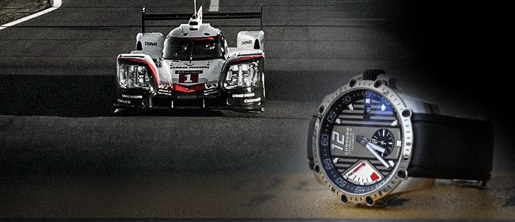 Chopard Superfast Porsche watch 2017 at Le Mans