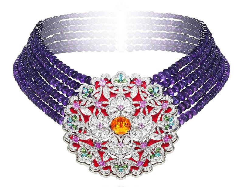 Chopard The Silk Road Collection - chocker
