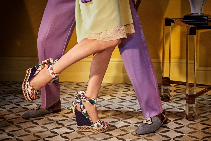 Christian Louboutin's Visitons of Grandeur -Levantinana style -Christian Louboutin for Spring-Summer 2018
