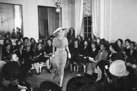 The view from the front row: a history of the fashion show – photo essay
