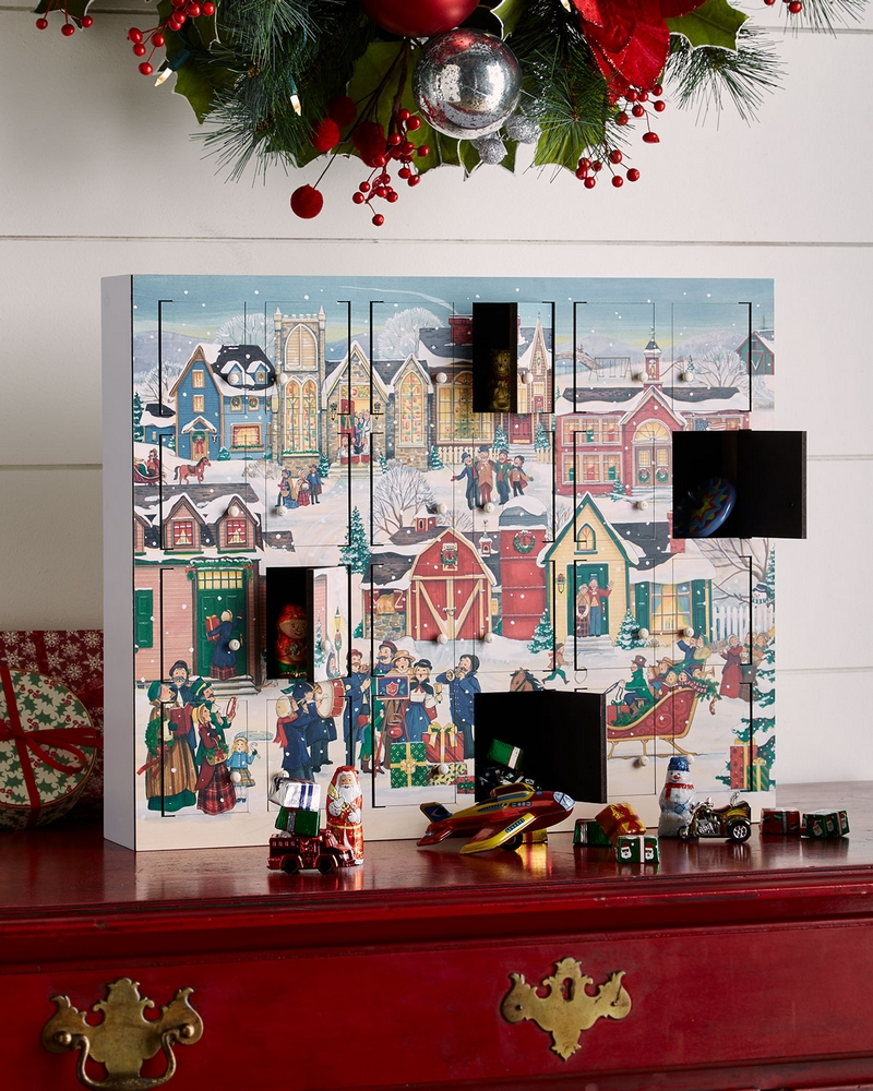 Christmas Village Advent Calendar