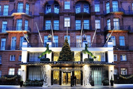 Designer trees and board-game butlers: Christmas in London's poshest hotels
