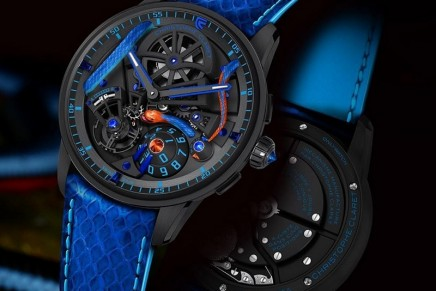 Christophe Claret is placing coral snake's undulations at the heart of its Maestro for Only Watch 2019