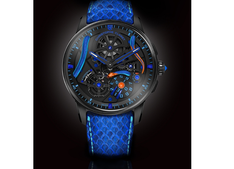 Christophe Claret Maestro Corail watch donated for Only Watch auction 2019