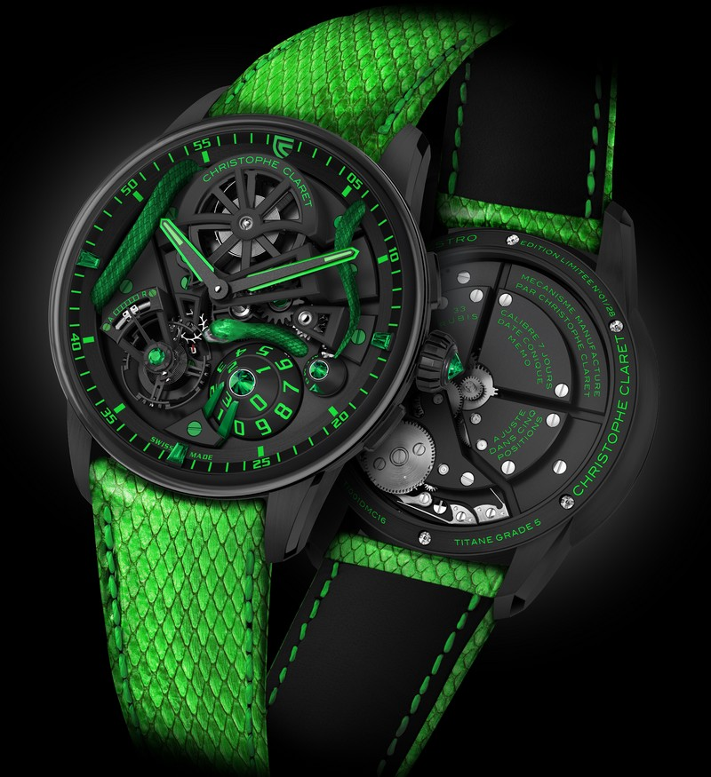 Christophe Claret Mamba Jungle watch