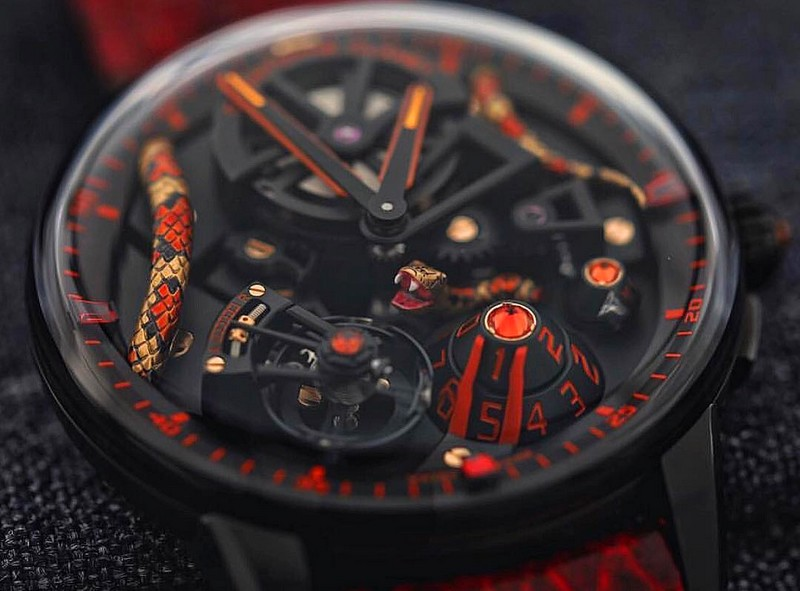 Christophe Claret Mamba watch