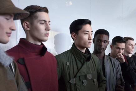 Christopher Raeburn is putting Merino wool centre stage at the London Fashion Week
