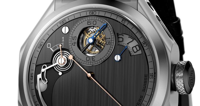 Chronometre_Ferdinand_Berthoud_FB_1R-6-1 -Chronometre Ferdinand Berthoud FB 1R.6-1 is a rare and unusual-looking timepiece-2018-SIHH