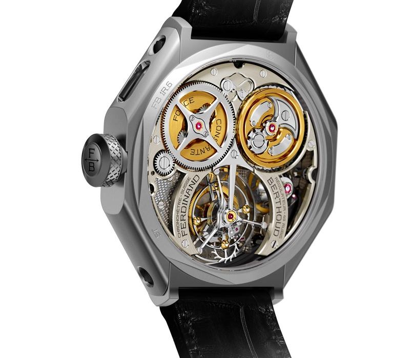 Chronometre_Ferdinand_Berthoud_FB_1R-6-1 -Chronometre Ferdinand Berthoud FB 1R.6-1 is a rare and unusual-looking timepiece