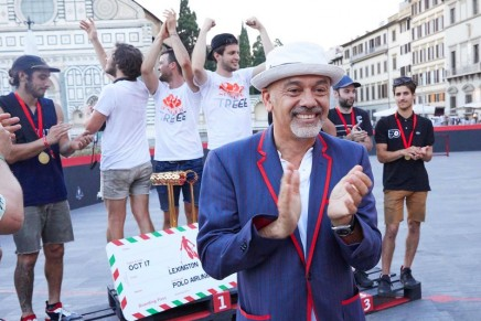 2017 Pitti Uomo: Christian Louboutin's Aurelien Bike Polo shoes hit the court