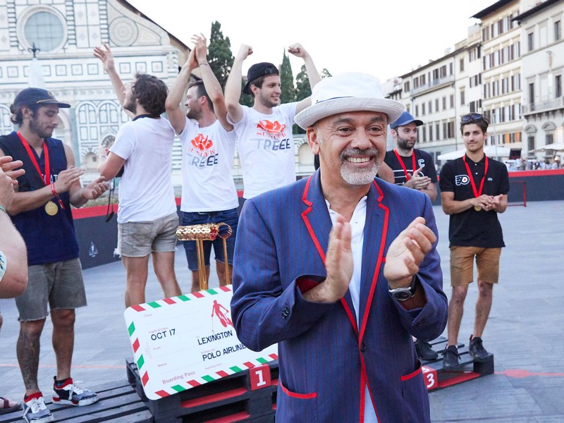 Ciao from Christian Louboutin himself