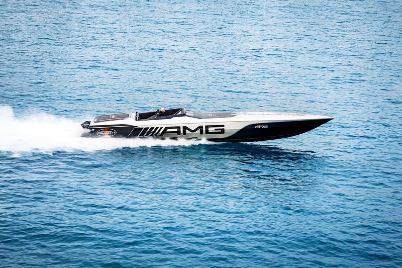 Cigarette Racing 515 Project ONE on water-2018-