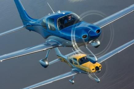 Enhanced 2016 SR Series is the most sophisticated aircraft ever produced by Cirrus Aircraft