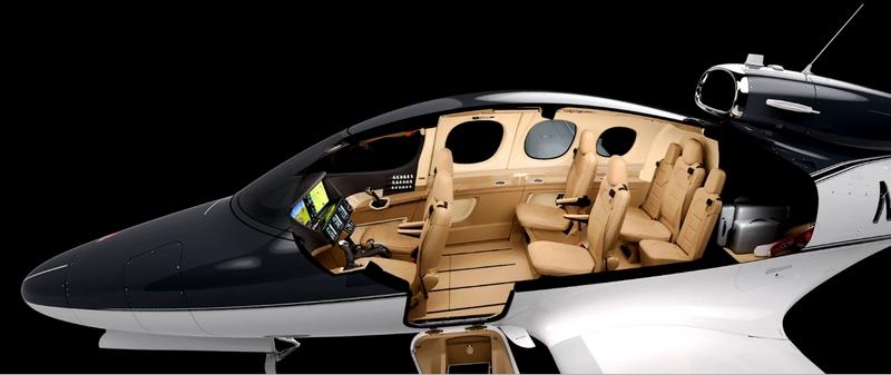 Cirrus Vision Jet Cabin