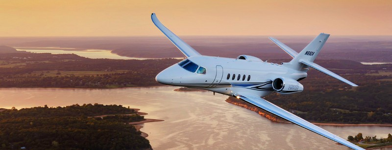 Citation Latitude midsize business jet
