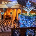 Claridge's Christmas Tree 2017 by the legendary Karl Lagerfeld-