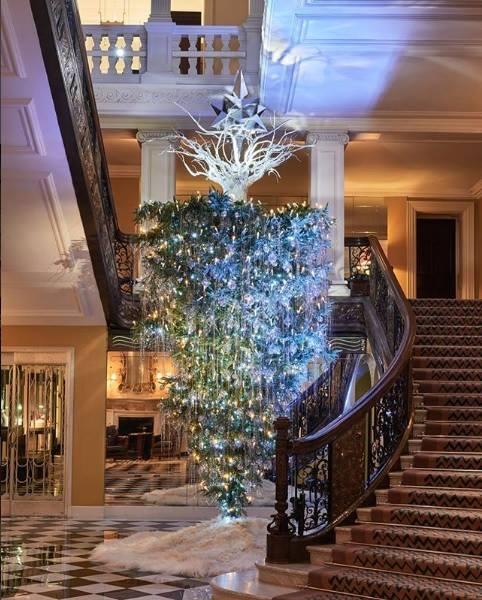 Claridge's Christmas Tree 2017 by the legendary Karl Lagerfeld