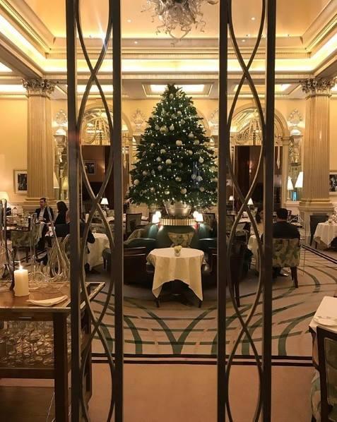 Claridge's Foyer 2017
