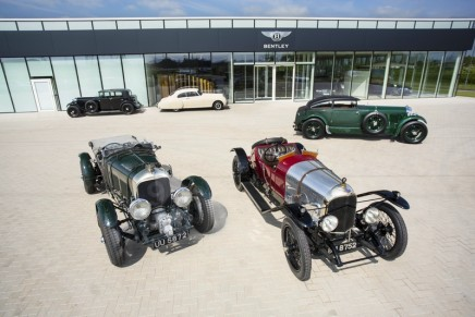 EXP 2 – The Oldest Surviving & First Racing Bentley at Retromobile 2019
