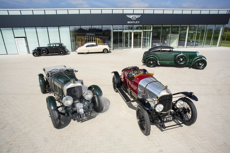 Classic Bentleys ready for Centenary year