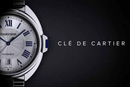 Cle de Cartier.A new shape and a new gesture introduced to the world of watchmaking