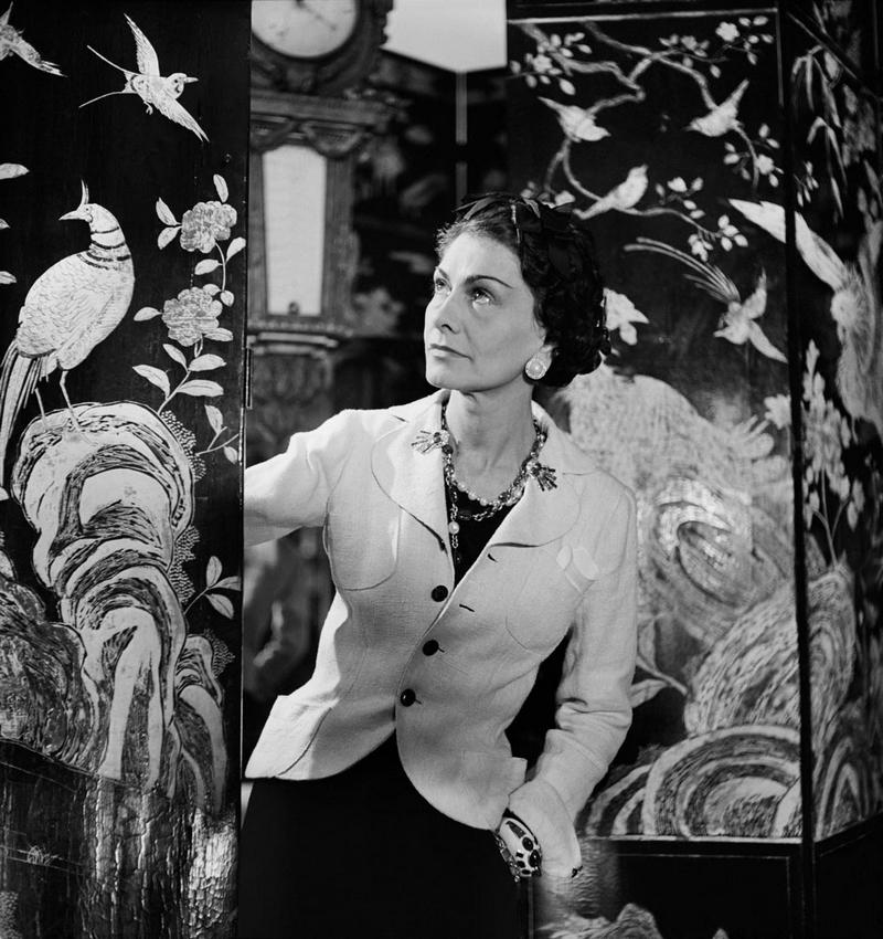 Coco Chanel and Coromandel Screens