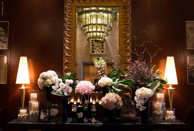 Coco Chanel inspired installation H.Bloom did for the Sofitel in Washington, D.C.