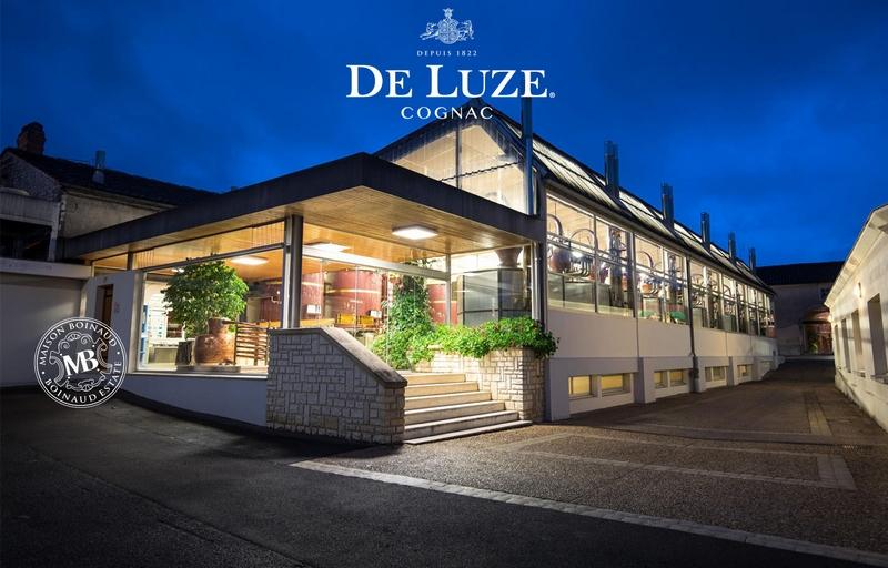 Cognac De Luze estate, a fine champagne cognac house -