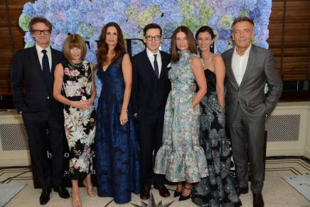 The London 2015 Green Carpet Collection by Erdem