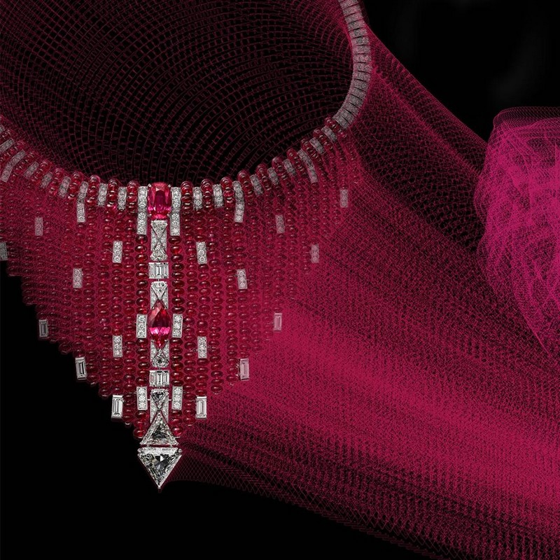 Coloratura - Cartier High Jewellery Collection is a sensorial exploration of colour - 2018 collection-