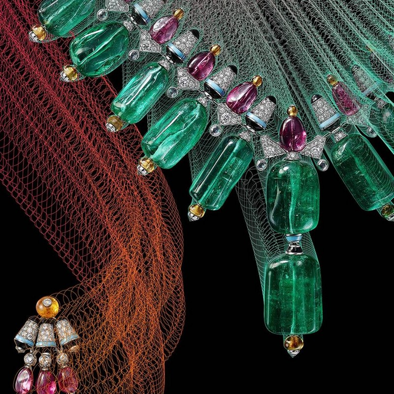 Coloratura - Cartier High Jewellery Collection is a sensorial exploration of colour - 2018 collection