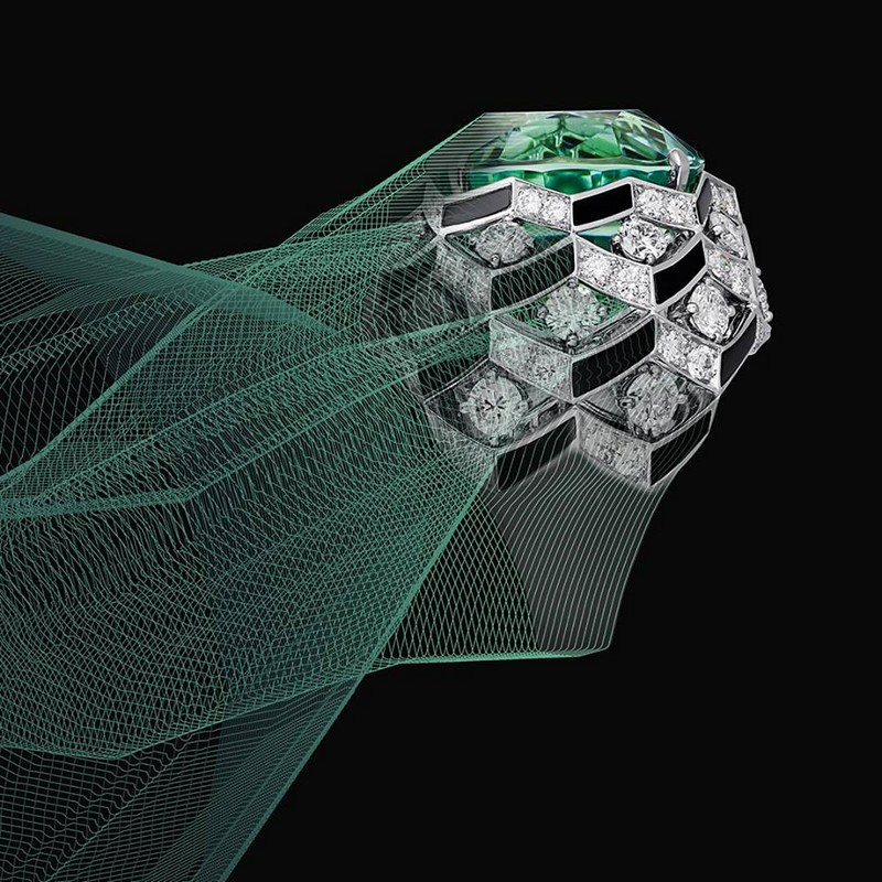 Coloratura - Cartier High Jewellery Collection is a sensorial exploration of colour