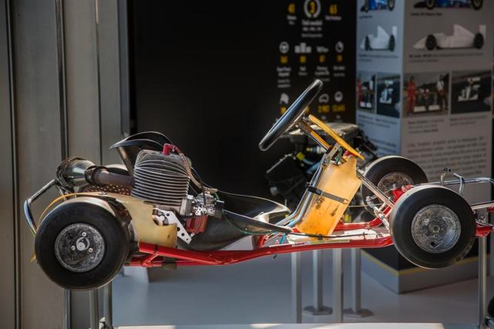 Come to see all the race cars driven by Ayrton Senna-