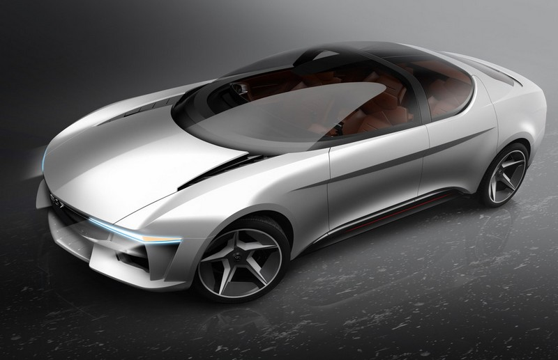Concept car unveiled by GFG Style and Envision-2018-