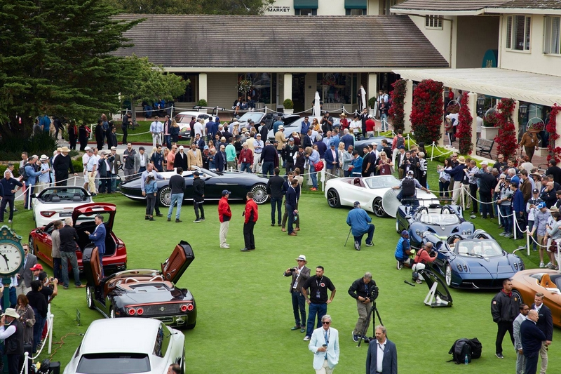 ConceptLawn at the Pebble Beach Concours d'Elegance