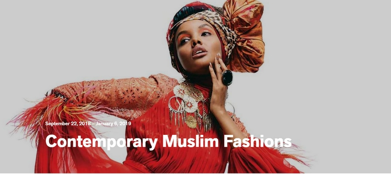 Contemporary Muslim Fashion Poster