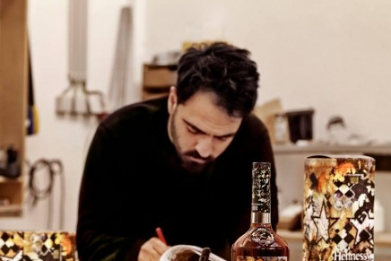Vhils Makes The Invisible Visible for Hennessy Very Special Limited Edition