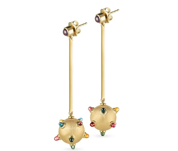 Cosmic Ausum Sputnik earrings
