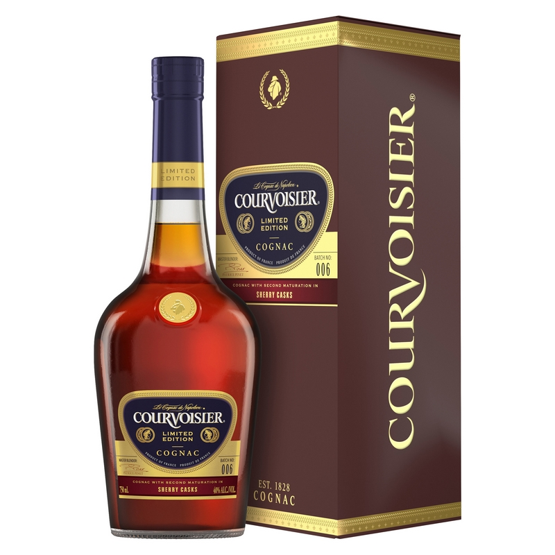 Courvoisier Cognac Introduced Sherry Cask-Finish Expression