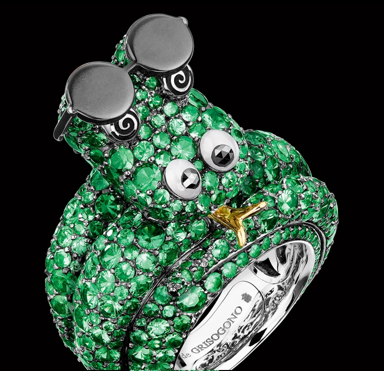 Crazymals jewellery by deGRISOGONO-2017-Crooner Snake
