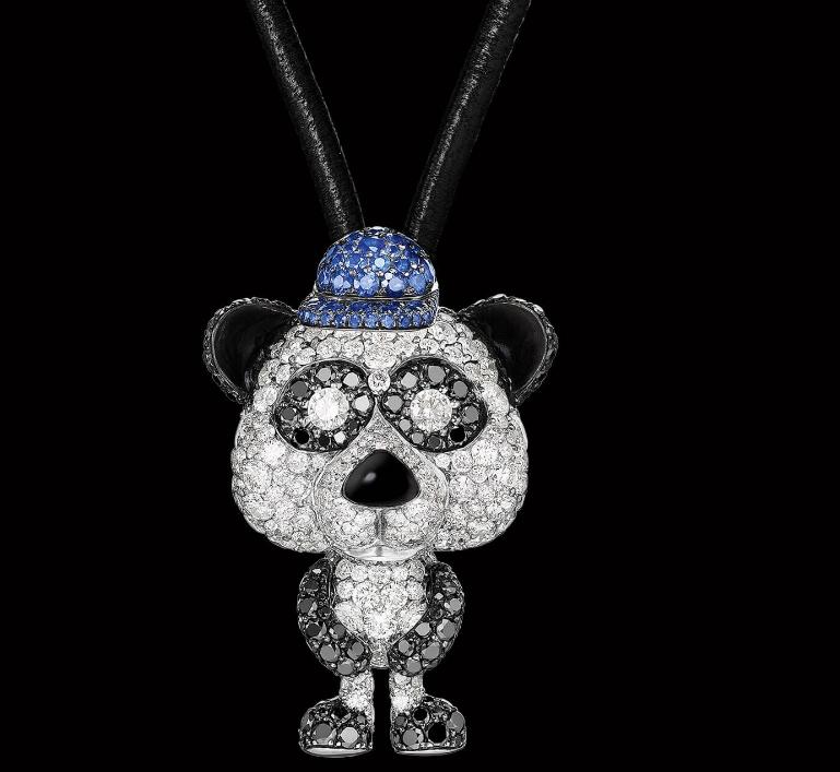 Crazymals jewellery by deGRISOGONO-2017- hip hop panda