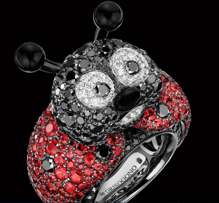 Crazymals jewellery by deGRISOGONO-Great Ladybug