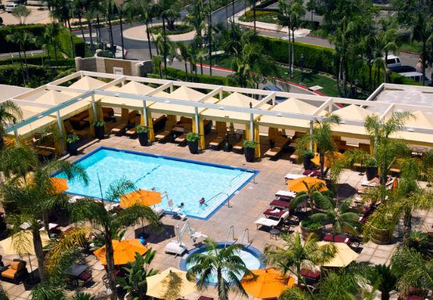 Crescent Hotels & Resorts Announces The Duke Hotel Newport Beach_Palms Pool