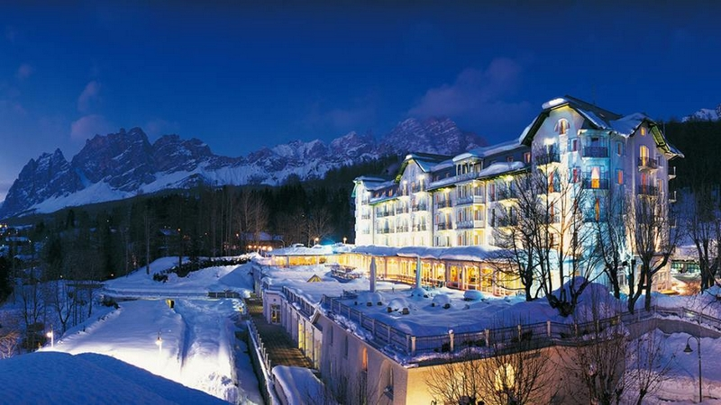 Cristallo Resort & Spa in Cortina, Italy Joins the Luxury Collection - exterior winter