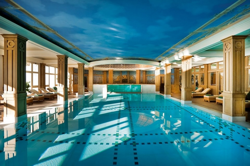 Cristallo Resort & Spa in Cortina, Italy Joins the Luxury Collection - the pool