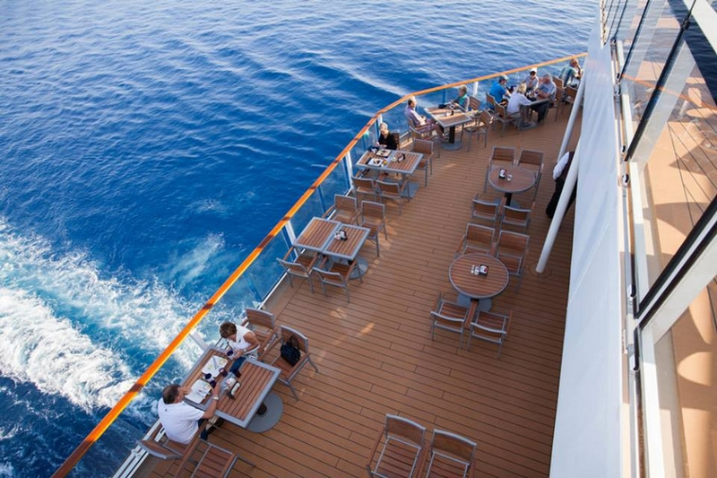 Cruisers rated Celebrity Cruises Reflection the 2017 Best Large Cruise Ship for Dining
