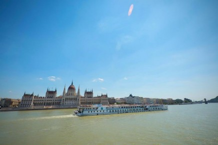 First Luxury River Ship to Go 'Live'