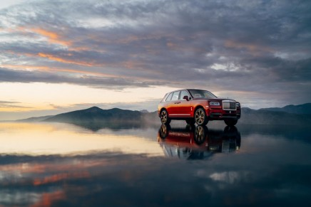"The first ""three-box"" car in the SUV-sector: Rolls-Royce Motor Cars revealed the most anticipated motor car of 2018"