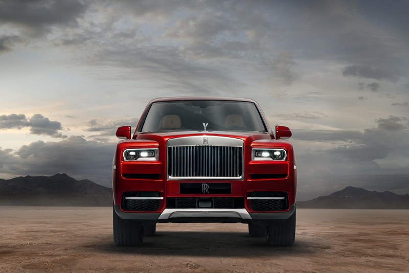 Cullinan - World premiere of the world's most anticipated SUV-2018-front